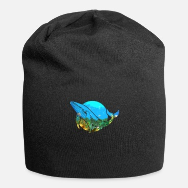 Baleine Baleine baleine bleue baleine - Bonnet en jersey