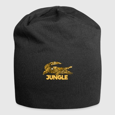 Jungle Krokodil jungle reptiel jungle amazone - Jersey-Beanie