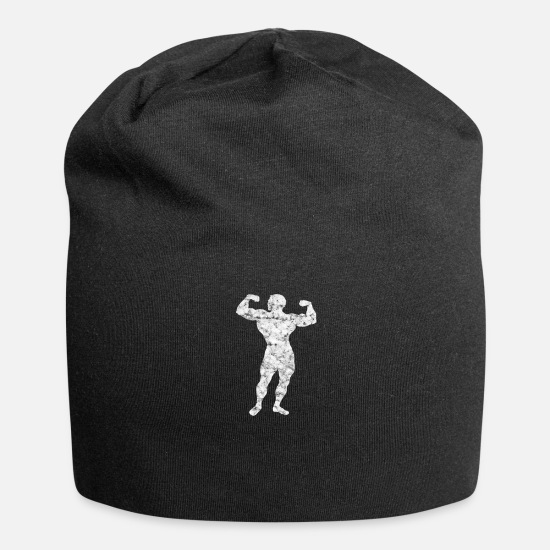 Body Builder Caps & Hats - body builder - Beanie black