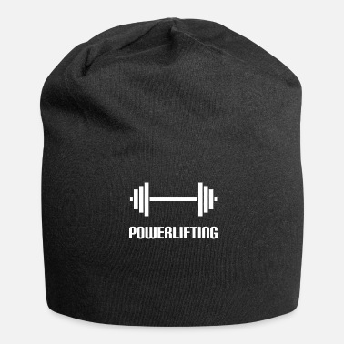 Weightlifting Powerlifting dumbbell weightlifting sport - Jersey Beanie