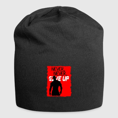 Never, Never, Give Up - Jersey Beanie