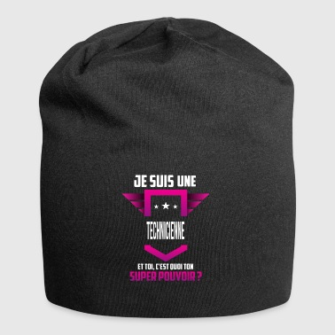 Technicienne - Bonnet en jersey