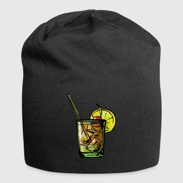 Whiskey Sour cocktail gaveide - Jersey-beanie