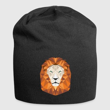Lion's Head. Head of a lion - Jersey Beanie