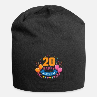 Birthday Party 20th birthday 20 years Happy Birthday gift - Beanie