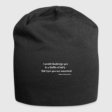 William Shakespeare Funny Quotes - Jersey-Beanie