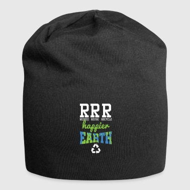 Reduce Reuse Recycle - Jersey Beanie