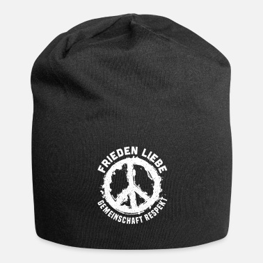 Community Peace Love Community Respect Peace - Bonnet en jersey