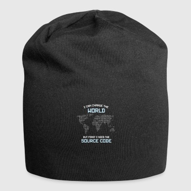 I Need Source Code - Jersey Beanie