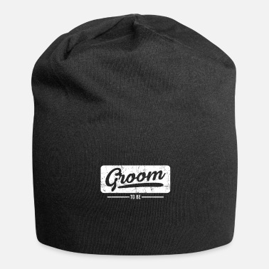Groom To Be groom - Jersey Beanie