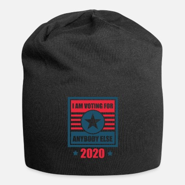 Bernie Sanders Voting For Anybody Else 2020 US Elections Anti Trump - Jersey Beanie