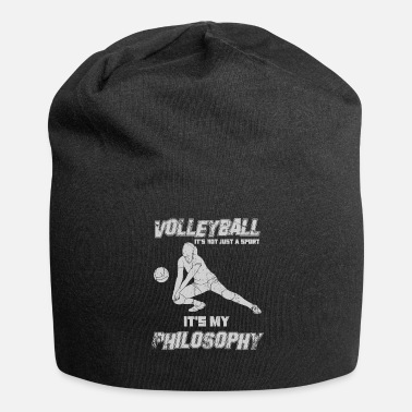 Draguer Sport de drague de volleyball avec philosophie - Bonnet en jersey
