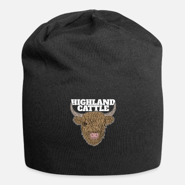 Highland Cool Scottish Highland Cattle Highland Cattle - Beanie