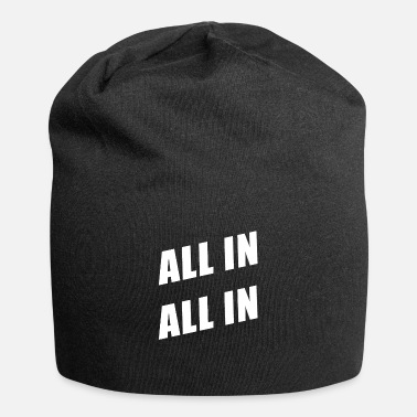 Poker Poker poker all in - Beanie in jersey