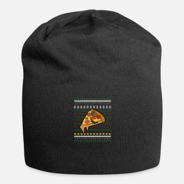Vvrolijk Pizza Christmas Ugly Sweater Crusty Gift - Beanie