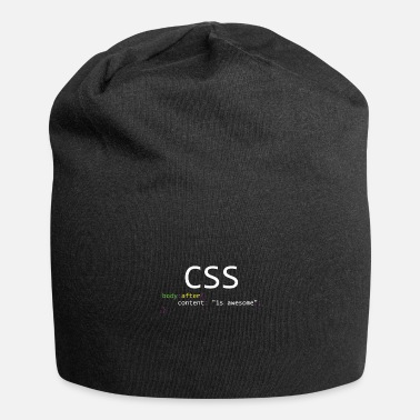 Css CSS is awesome - Jersey Beanie