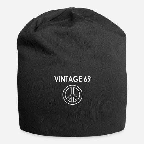 1969 50th Birthday 2019 50 Years Peace Hippie Idea Beanie