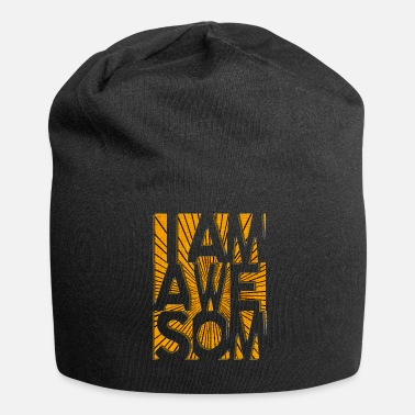 I AM AWESOME - Jersey Beanie