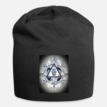 Artsy Artsy design with spiritual/meaningful add ons. - Beanie