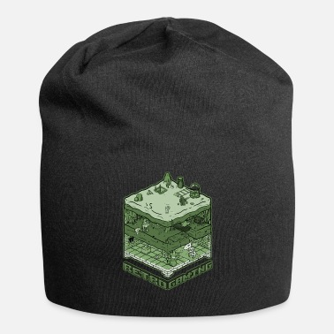 Retro Game Characters Retro Gaming - Jersey Beanie