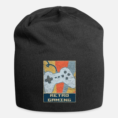 Retro Game Characters Retro vintage gaming - Beanie