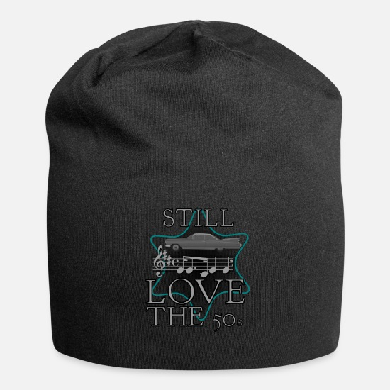 Love Caps & Hats - The fifties - Beanie black