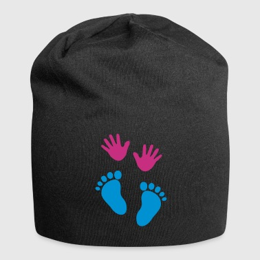 Baby Feet Baby hands and feet - Jersey Beanie