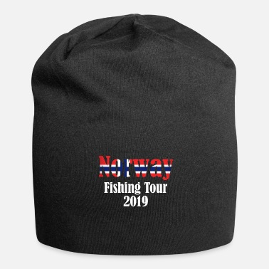 Deep Sea Fishing Norway fishing tour gift deep-sea fishing - Jersey Beanie