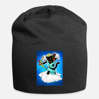 Cupid Valentijnsdag Black Cupid Cat - Jersey-Beanie
