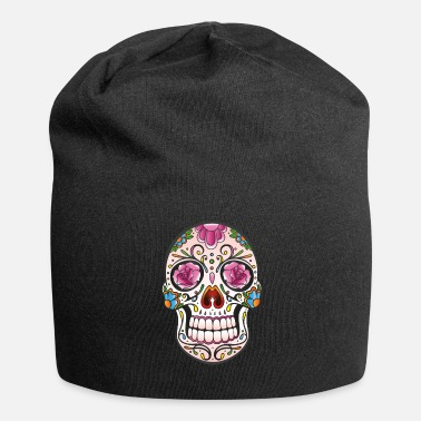 Skull Traditionele Mexicaanse sugar skull - Jersey-Beanie