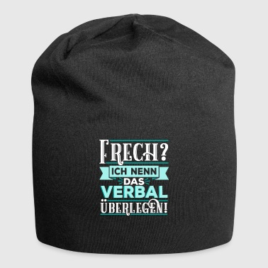 Provoke Naughty Verbal Provocative Provoking Gift - Jersey Beanie