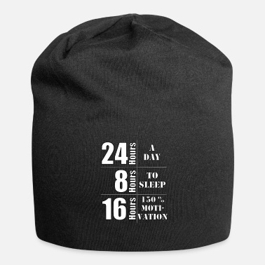 Change Motivatie Zeg 150% motivatie - Jersey-Beanie