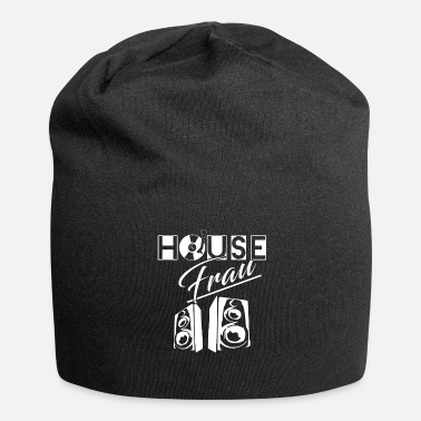 House House Woman House Music - Jersey-Beanie