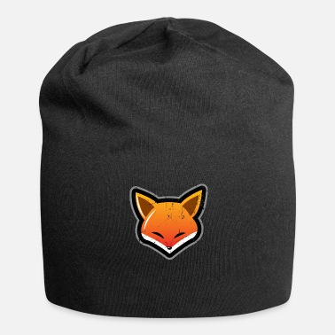 Torn Fox cleverly torn gift - Jersey Beanie
