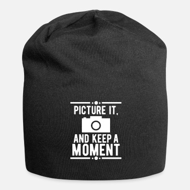 Picture Cadeau d'anniversaire photo Keep Keep Moment - Bonnet en jersey