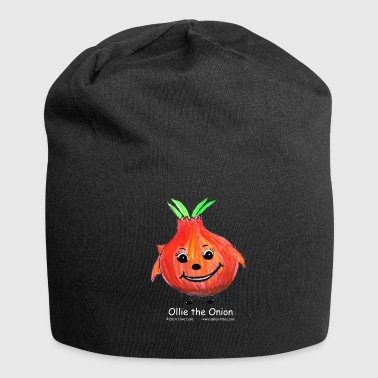 Black Beanie with Ollie the Onion - Jersey Beanie