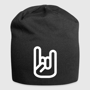 Rock Hand Sign - Bonnet en jersey