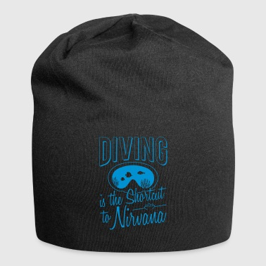 Diving is the shortcut to Nirvana gift - Jersey Beanie