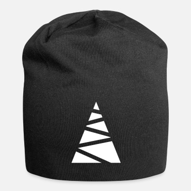Minimum Abstracte fir-boom - Jersey-Beanie