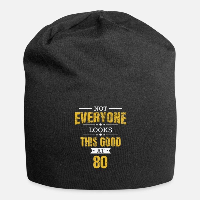 80th Birthday Gift Retro Eighty 80 Years Looks Beanie