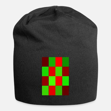Rectangle rectangles - Jersey Beanie