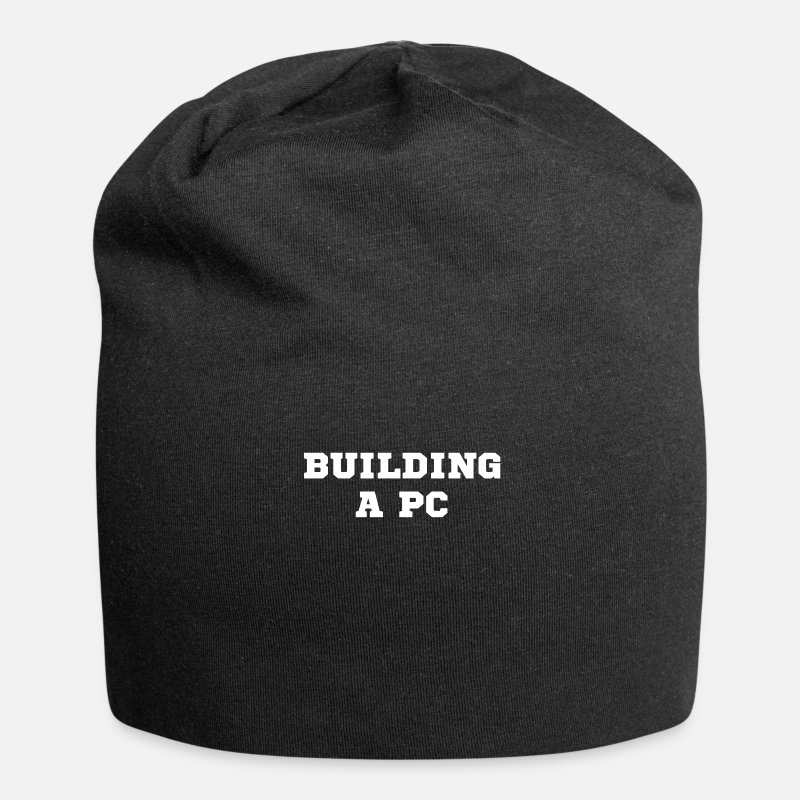 Birthday Caps & Hats - build a PC - Beanie black