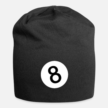 8-ball 8 - Eight Ball - Black Ball - Bonnet en jersey