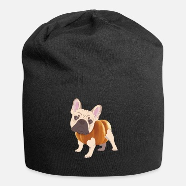 French French bulldog - Jersey Beanie
