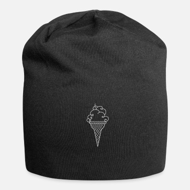 Ice Cream Popsicles Ice Cream Ice Cream Parlor - Jersey Beanie