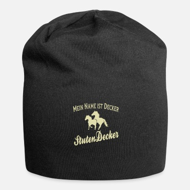 Playboy Funny Horse Mares Rider - Mare Ducker - Jersey Beanie