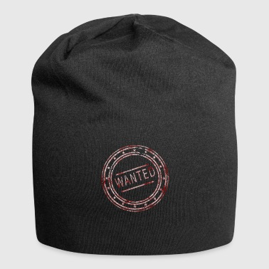 Wanted - Stempel - Jersey-Beanie