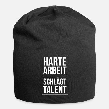 Filosofi Hard Work Beats Talent Hard Work Beats Talent - Jersey-Beanie