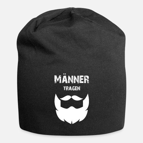 1a6b04e06d5 Cool men wear beard gift saying - Beanie. Front