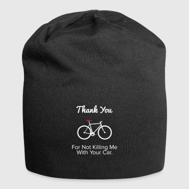 Thank you - For the provocative cyclist. - Jersey Beanie